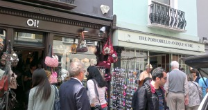 Much shopping to be had on Portobello Road