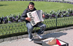 What song is he playing?