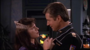 "Delenn and Sheridan, from ""Babylon 5"""