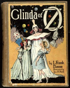 Baum's three main female leads: Ozma, Glinda, and Dorothy