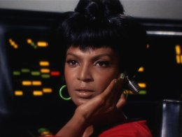 Lt. Uhura from classic Star Trek